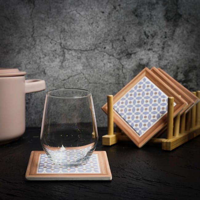 Peranakan Ceramic Cup Coaster - Sybil - 1