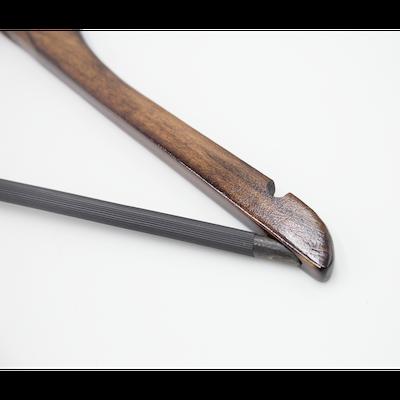 Wooden Non-Slip Hangers (Set of 10) - Walnut - Image 2
