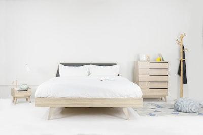 Parker Queen Wooden Bed - Image 2