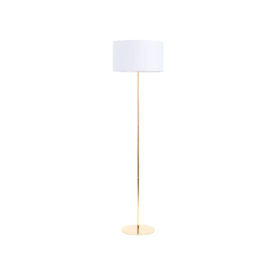 Sparker - Reese Floor Lamp - White, Brass