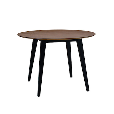 Ralph Round Dining Table Ì÷1m  - Black, Cocoa - Image 1