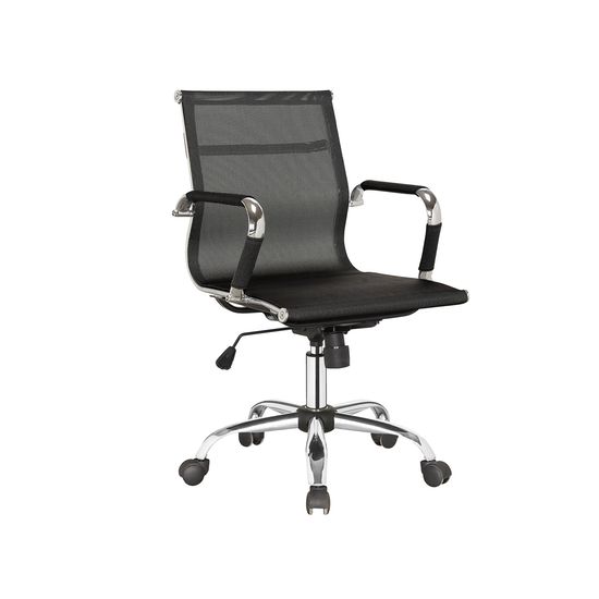 Office Chairs by HipVan - Eames Mid Back Mesh Office Chair - Black