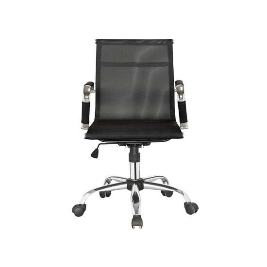 office chairs by hipvan eames mid back mesh office chair black
