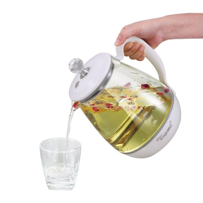 TOYOMI 1.8L Borosilicate Glass Pot WK 2162 - 3