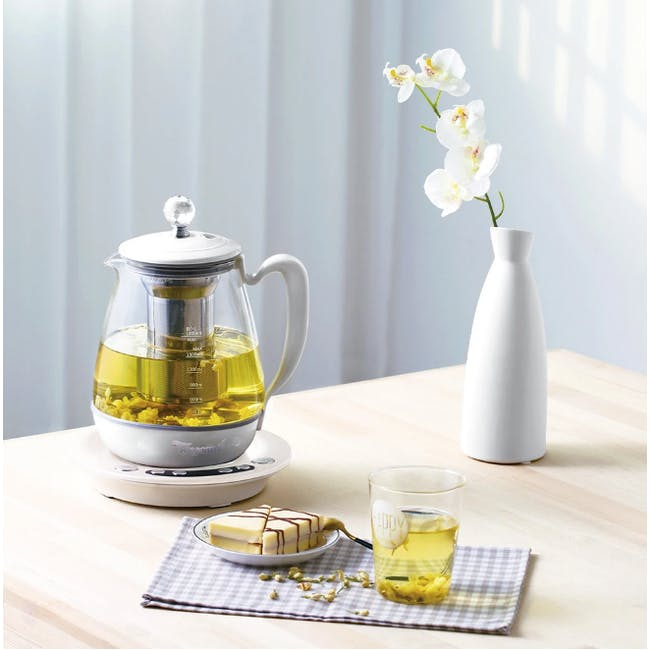 TOYOMI 1.8L Borosilicate Glass Pot WK 2162 - 1