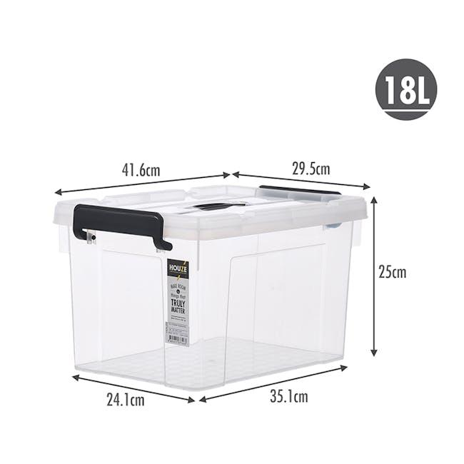 HOUZE Strong Handheld Box - 18L - 7