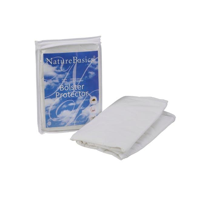 Nature Basics 100% Cotton Bolster Protector - 1