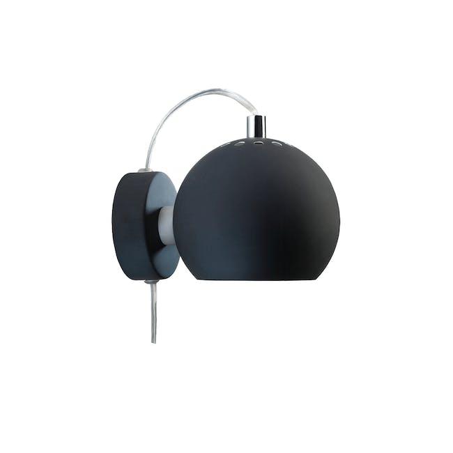 Slug Wall Lamp - Matte Black - Short - 0