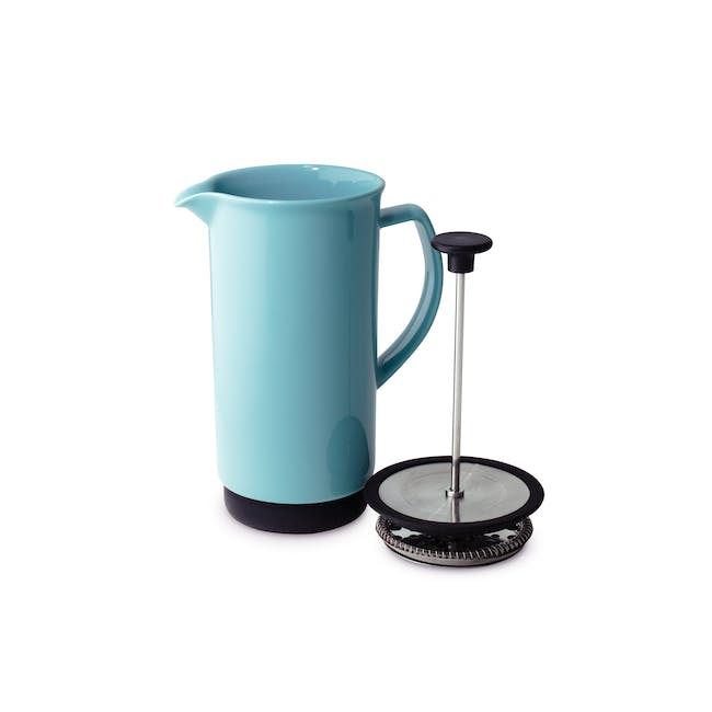 Forlife Café Style Coffee Press - Turqiose - 1