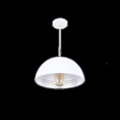 Starke Bowl Pendant - White - Image 1