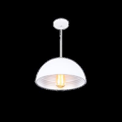 Starke Bowl Pendant - White - Image 2