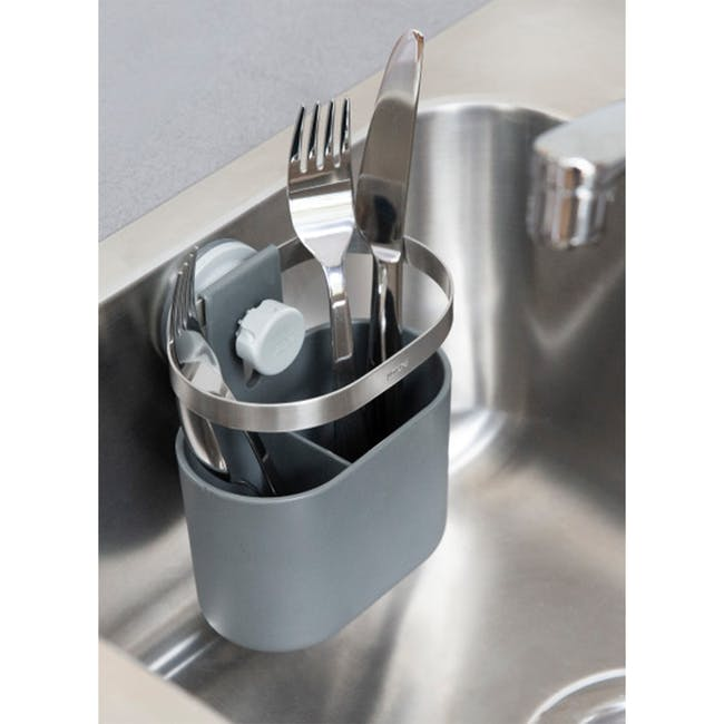 Holster Sure-lock Utensils Caddy - Charcoal - 1