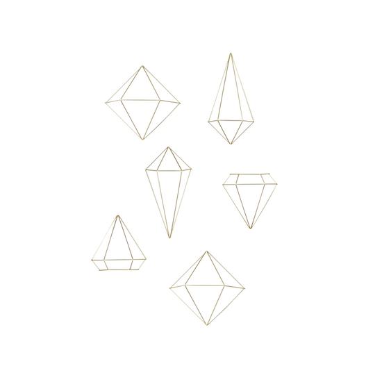 Umbra - Prisma Wall Decor - Brass