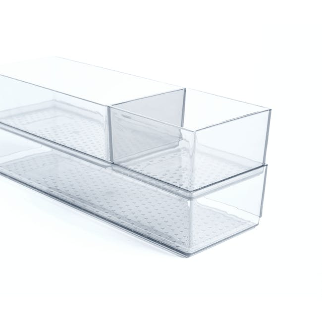 Hallie Clear Organiser - Large - 2