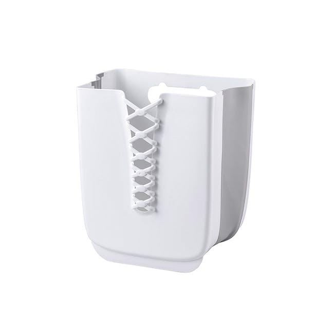 HOUZE Foldable Hanging Laundry Basket - White - 0