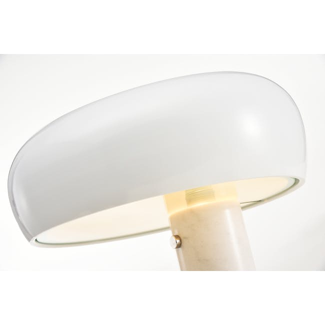 Flos Snoppy Marble Table Lamp - White - 1