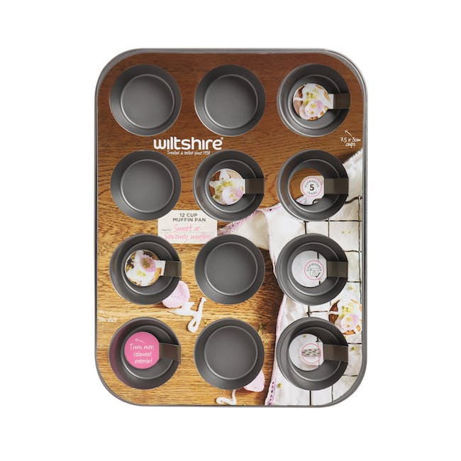 Wiltshire Two Toned Muffin Pan 12 Cup - 1