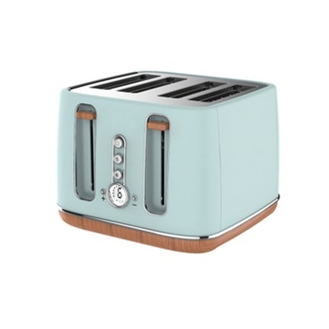 Odette Otto Series 4-Slice Bread Toaster - Light Green - 0