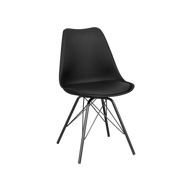 Axel Chair - Black, Carbon - 4