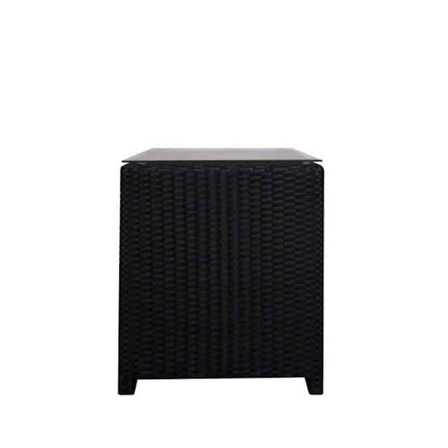 Splendor Armchair Set - White Cushion - 3