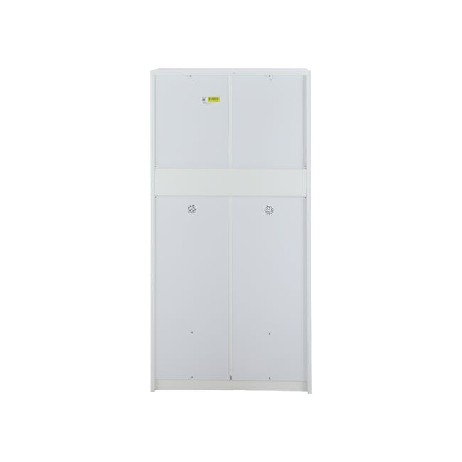 Penny Shoe Cabinet - White - 14