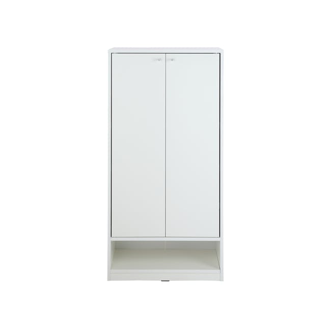 Penny Shoe Cabinet - White - 0