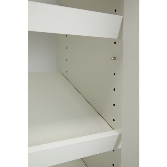 Penny Shoe Cabinet - White - 5