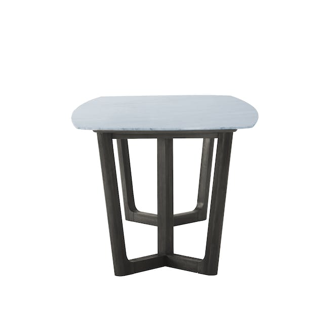 (As-is) Carson Marble Dining Table 2m - 18