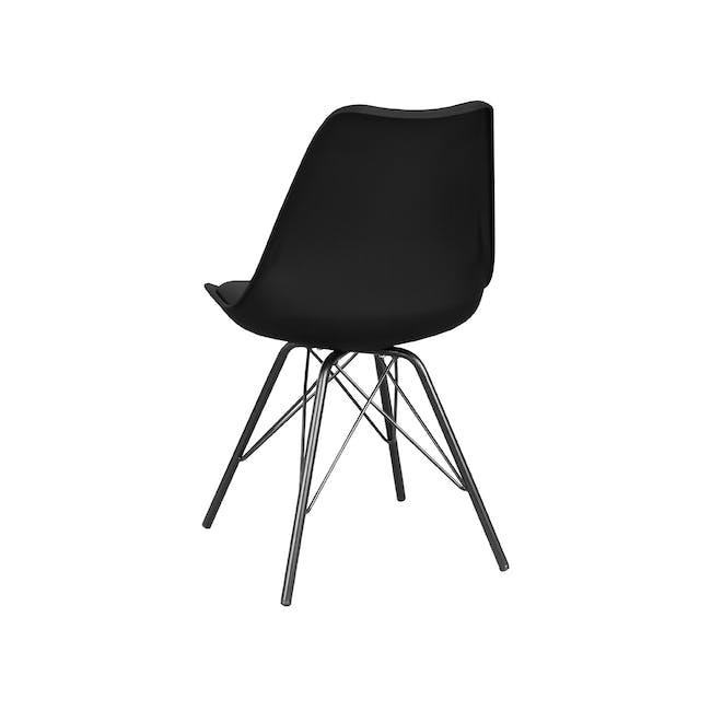 Axel Chair - Black, Carbon - 3