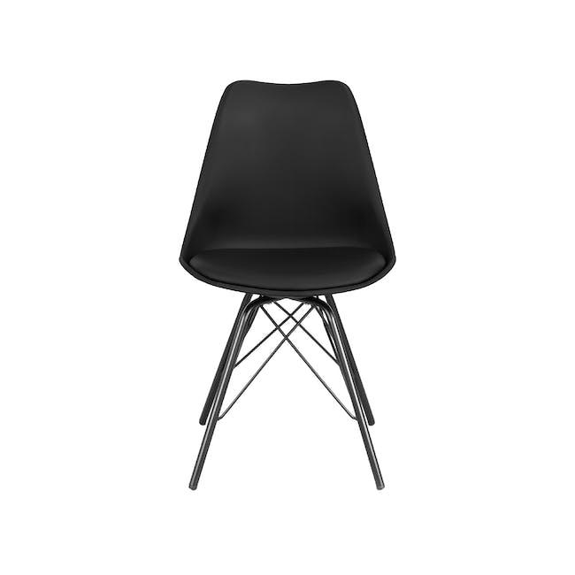 Axel Chair - Black, Carbon - 2