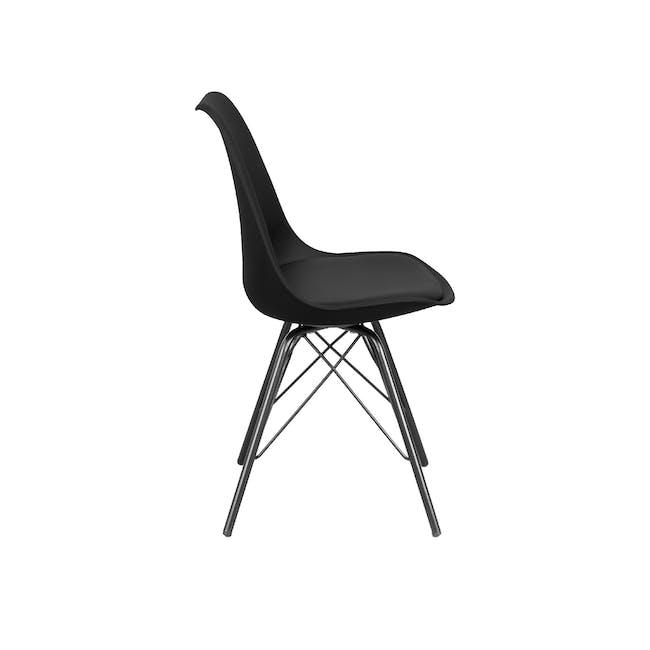 Axel Chair - Black, Carbon - 1