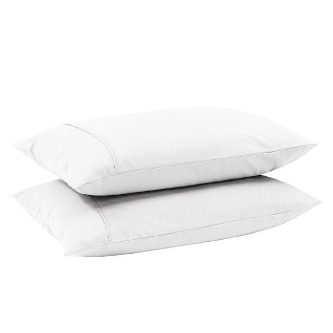 Aurora Pillow Case (Set of 2) - White - 3