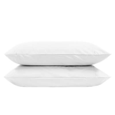 Aurora Pillow Case (Set of 2) - White - Image 1