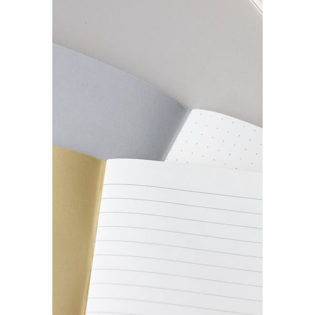 A5 Jule Notebook - Ruled Dotted Paper (Set of 2) - 1