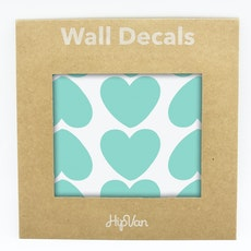 Peaches Heart Wall Decal (Pack of 60) - Mint