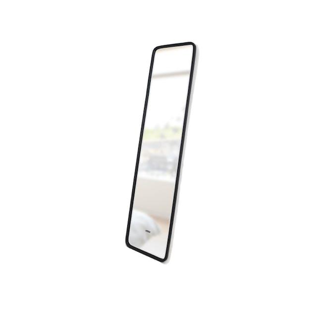 Hub Leaning Mirror 37 x 157 cm - Black - 3