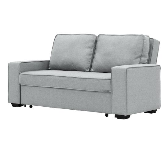 Sofa Beds - MLM - Arturo 3 Seater Sofa Bed - Silver