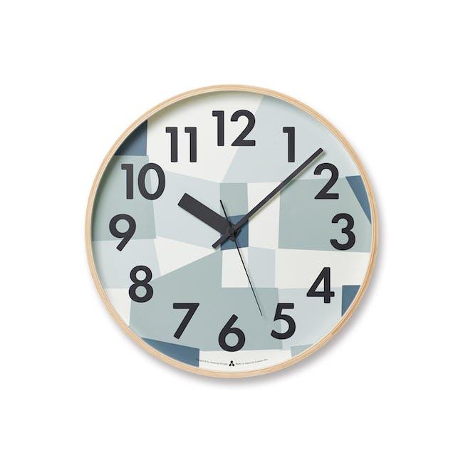 Kasumi Clock - Blue - 0