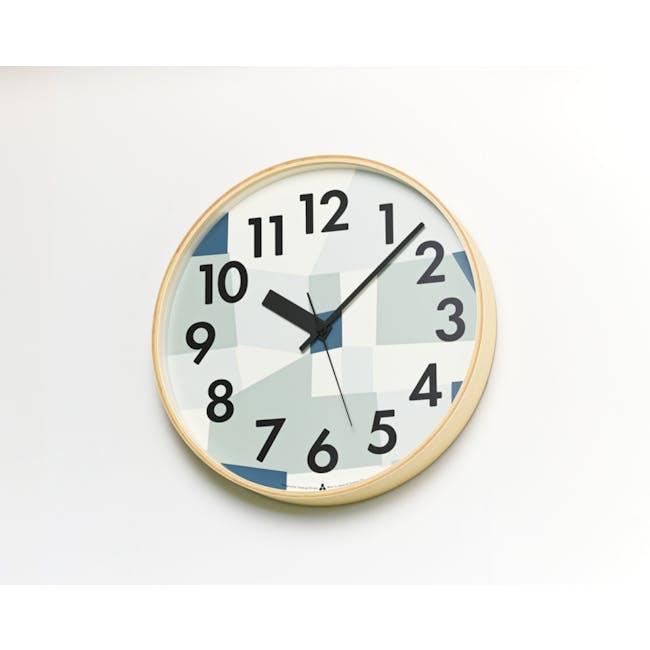 Kasumi Clock - Blue - 1