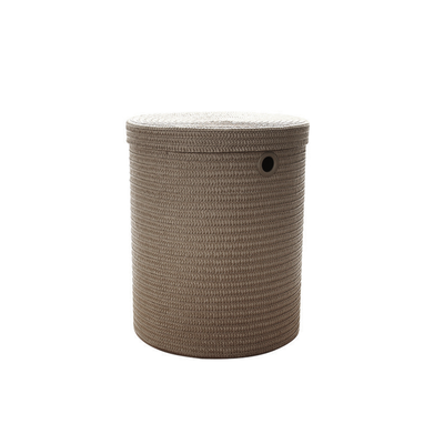 Leon Storage Stool - Grey - Image 1