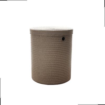 Leon Storage Stool - Grey - Image 1