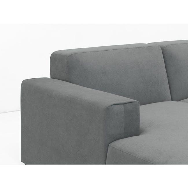 Adam 3 Seater Sofa - Stone - 4