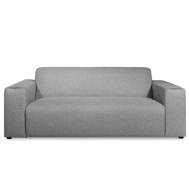 Adam 3 Seater Sofa - Stone - 0