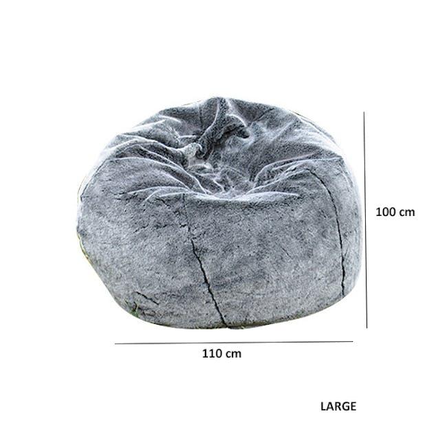 Dionysus Bean Bag - Timber Wolf (2 sizes) - 4
