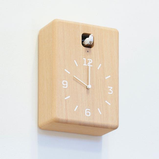 CUCU Clock - Dark brown - 2