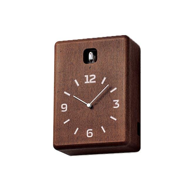 CUCU Clock - Dark brown - 1