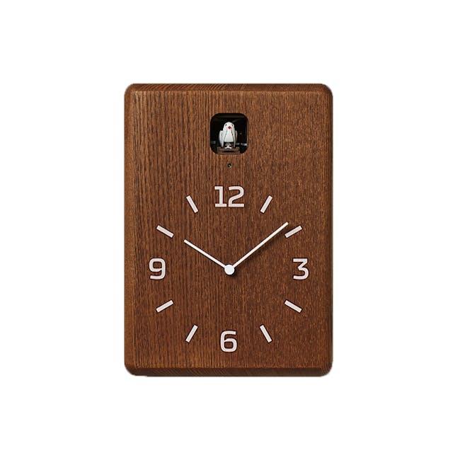 CUCU Clock - Dark brown - 0