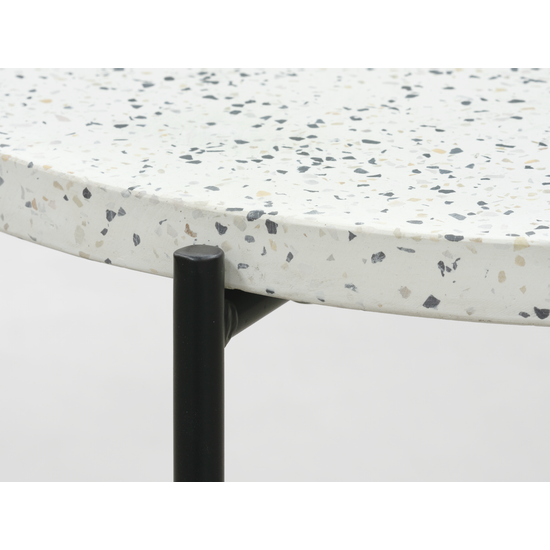 100% authentic 7555a ea19b Kyra Terrazzo Side Table