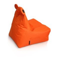 Hippo Bean Bag - Orange