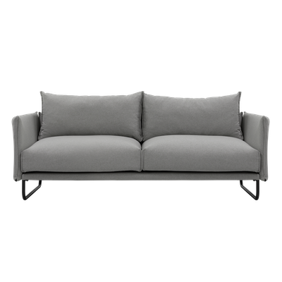 Frank 3 Seater Sofa with Veronic Lounge Chair - Image 2